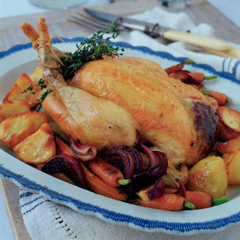 """<p>Celery, nut, mushroom and herb stuffing turn classic roast chicken into a really special meal</p><p><strong>Recipe: <a href=""""https://www.goodhousekeeping.com/uk/food/recipes/a536727/posh-roast-chicken-with-proper-stuffing/"""" rel=""""nofollow noopener"""" target=""""_blank"""" data-ylk=""""slk:Posh roast chicken with proper stuffing"""" class=""""link rapid-noclick-resp"""">Posh roast chicken with proper stuffing</a></strong></p>"""
