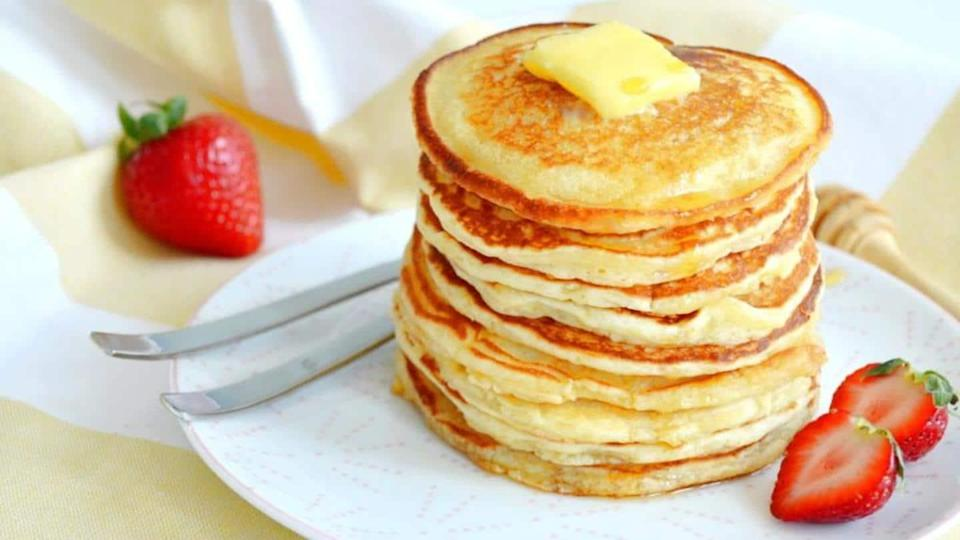 Craving a pancake? Try this fluffy, delicious recipe at home