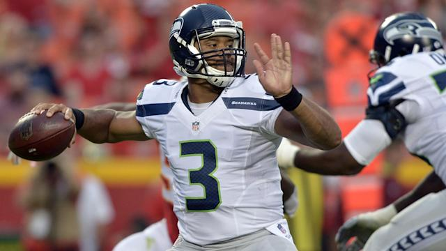 Russell Wilson is our top QB under 30. (AP)