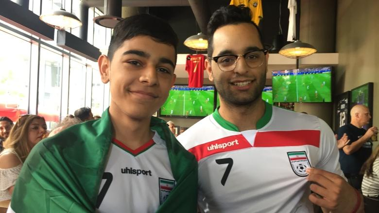'It's just a game': Iran  World Cup fans frustrated politics are mixing with soccer