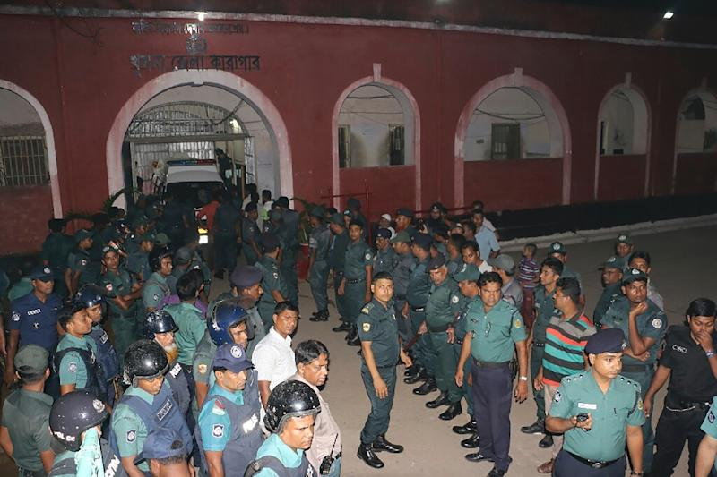 Bangladesh security forces have launched a deadly new crackdown against Islamist extremists following the cafe siege, which has shaken the image of Bangladesh as a moderate Muslim nation (AFP Photo/)