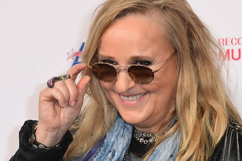 US singer-songwriter Melissa Etheridge attends the 2020 MusiCares Person Of The Year gala honoring US rock band Aerosmith at the Los Angeles Convention Center in Los Angeles on January 24, 2020. (Photo by Frederic J. BROWN / AFP) (Photo by FREDERIC J. BROWN/AFP via Getty Images)