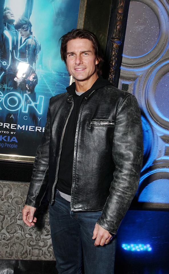 "<a href=""http://movies.yahoo.com/movie/contributor/1800015725"">Tom Cruise</a> attends the Los Angeles premiere of <a href=""http://movies.yahoo.com/movie/1810096458/info"">TRON: Legacy</a> on December 11, 2010."