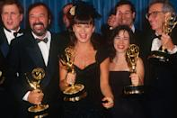 """<p>The 71st Primetime Emmy Awards are almost here, and this year, records are being broken by powerhouse series, """"Game of Thrones,"""" and even first-time nominees like Billy Porter. On September 22, celebrities will be lining the red carpet with the latest looks. Want to take a peek at what they wore in 1989? Here are some of the best shoulders pads of the year. </p>"""