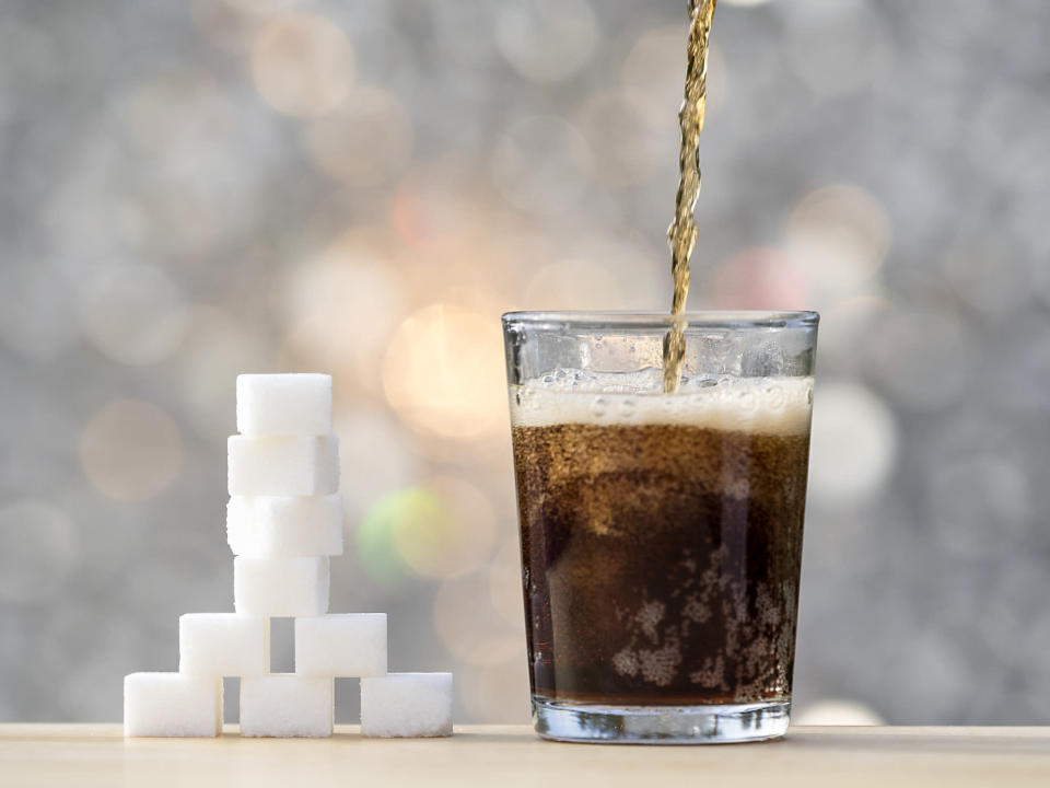 <em>Sugary drinks – the LGA has called for measures to immediately tackle sugary drinks (Picture: Getty)</em>