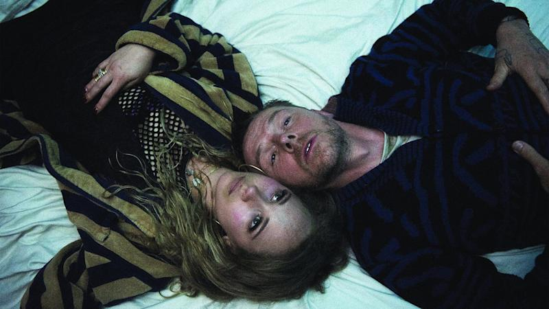 Juno Temple and Simon Pegg in the new film 'Lost Transmissions' (Photo: Elizabeth Kitchens/Tribeca Film Festival)