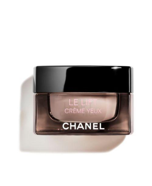"""<p><strong>Chanel</strong></p><p>macys.com</p><p><strong>$105.00</strong></p><p><a href=""""https://go.redirectingat.com?id=74968X1596630&url=https%3A%2F%2Fwww.macys.com%2Fshop%2Fproduct%2Fchanel-le-lift-creme-yeux-0.5-oz.%3FID%3D10483419&sref=https%3A%2F%2Fwww.goodhousekeeping.com%2Fbeauty%2Fanti-aging%2Fg26858923%2Fbest-eye-creams%2F"""" rel=""""nofollow noopener"""" target=""""_blank"""" data-ylk=""""slk:Shop Now"""" class=""""link rapid-noclick-resp"""">Shop Now</a></p><p>With this rich, luxurious Chanel eye treatment, you get what you pay for: A GH Beauty Lab test winner, the gentle formula was the most hydrating of all eye creams evaluted. <strong>It increased eye-area skin hydration by an impressive 34%</strong> over six hours and earned near-perfect scores for texture and fragrance. </p>"""