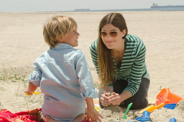 "Jadon Wells as Harrison and Jennifer Carpenter as Debra Morgan in the ""Dexter"" Season 8 episode, ""Goodbye Miami."""
