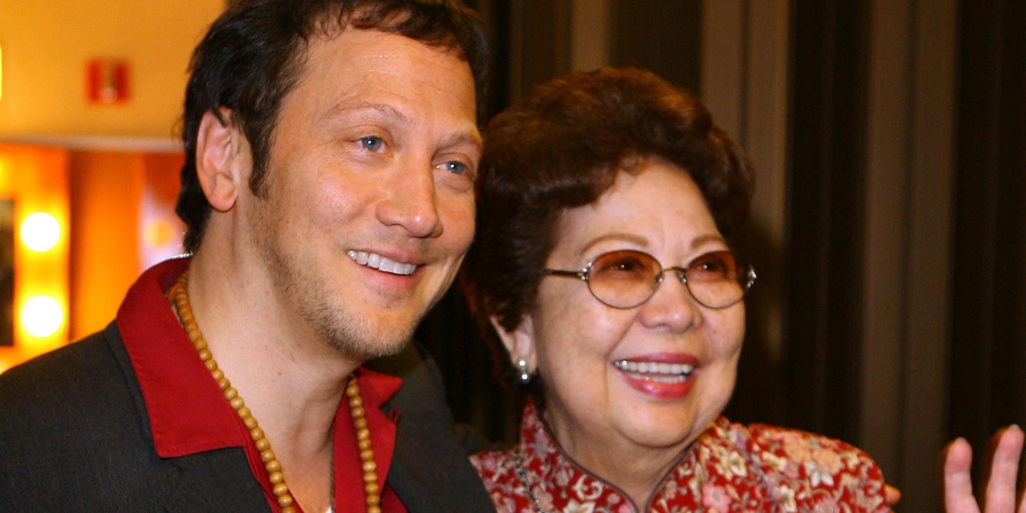 news.yahoo.com: Rob Schneider announces his mom, who appeared in his films, has died