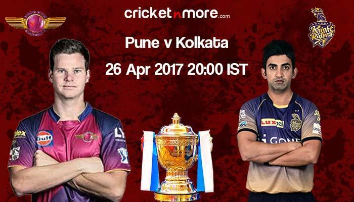 IPL (Match 30) - Kolkata opt to field against Pune