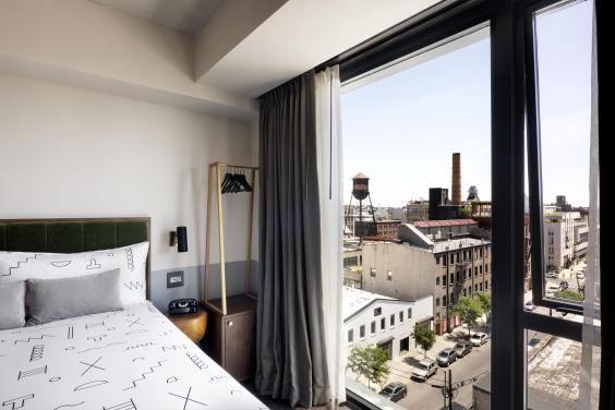 Rooms at The Hoxton, Williamsburg, offer great city views (The Hoxton)