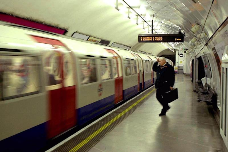 Tube staff took over 15,500 face-to-face counselling sessions between 2013 and 2016 (AP)