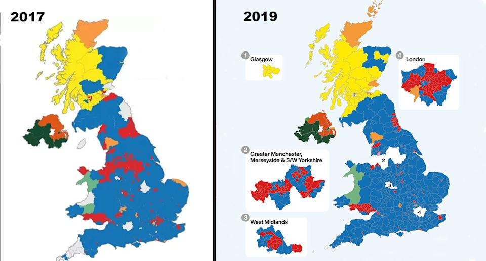 How 2017 compares to 2019