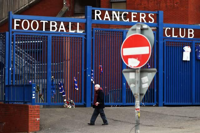 Rangers have made their displeasure at the SPFL known (Andrew Milligan/PA)