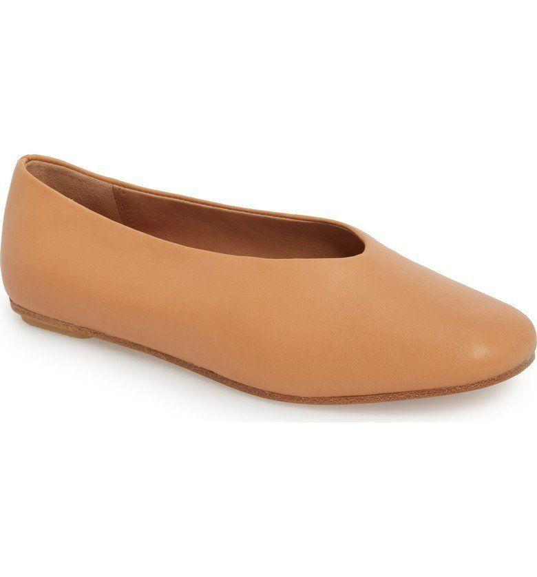 "Get it on <a href=""https://shop.nordstrom.com/s/clarks-margot-free-flat-women/4839615?origin=keywordsearch-personalizedsort&fashioncolor=BLACK%20LEATHER"" target=""_blank"">Nordstrom</a>, $150."