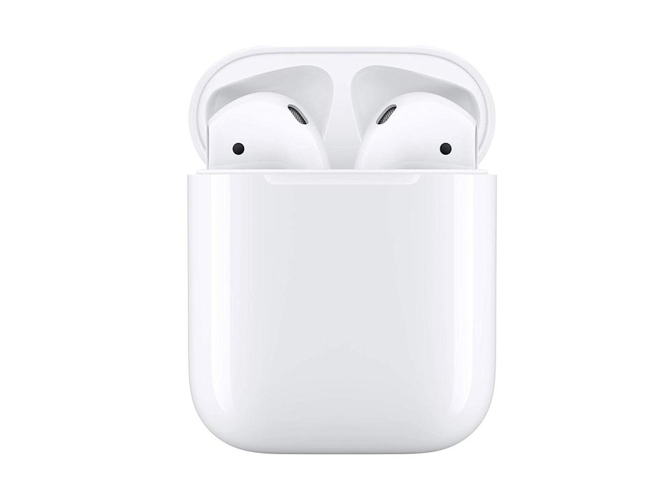 Apple AirPods with charging case, wired: Was £159, now £119.99, Amazon.co.uk (Apple)