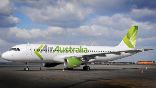 An Air Australia's Airbus A320. Budget carrier Air Australia collapsed Friday, stranding thousands of passengers as its domestic flights and international services to Honolulu, Bali and Phuket were all grounded