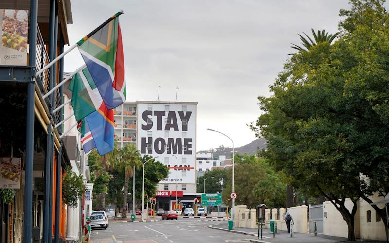 South Africa entered a strict lockdown in March - iStock