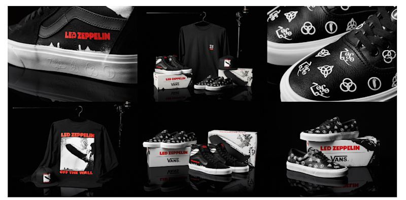 0f4fc4737 Vans Launches Led Zeppelin Collection to Celebrate Band's 50th ...