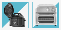 "<p>If you've somehow made it this long into 2020 without what's arguably the hottest small kitchen appliance of the year because you were waiting for <a href=""https://www.menshealth.com/technology-gear/a34222545/black-friday-cyber-monday-deals-sales-2020/"" rel=""nofollow noopener"" target=""_blank"" data-ylk=""slk:Black Friday deals"" class=""link rapid-noclick-resp"">Black Friday deals</a> to come around, here's proof that good things come to those who wait. Black Friday this year is <em>stacked </em>with air fryer deals. </p><p>For the uninitiated (perhaps you're reading this because you wanted to learn once and for all what the hype is about), air fryers are small ovens with a highly concentrated heat source and a fan that moves the air around to crisp up vegetables, wings, fries and more with zero or minimal oil. Considering how easy these are to use, plus the fact that some models out there have upwards of 6-in-1 capabilities, it's no wonder they've become so popular. Ahead, the best air fryer deals to scoop up this Black Friday on some of our all-time favorite models. </p>"