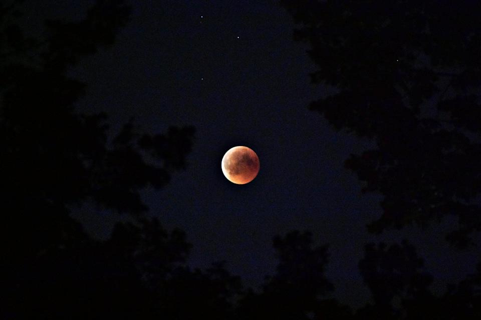 <p>The second lunar eclipse of the year, Nov. 19's celestial happening is slightly less dramatic than May's total lunar eclipse. This partial lunar eclipse occurs as the moon passes through Earth's partial shadow. Only part of the moon will darken, and it will be visible in most of the world.</p>