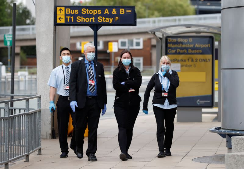 Manchester Airport owner could cut over 800 jobs on virus hit
