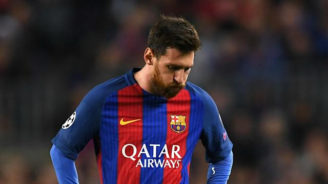 Barcelona's 0-0 Champions League draw at home to Juventus on Wednesday saw talismanic striker Lionel Messi record five shots off target.