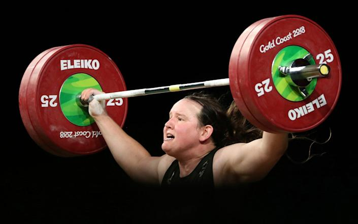 Laurel Hubbard is due to compete for New Zealand at the Olympics - AP
