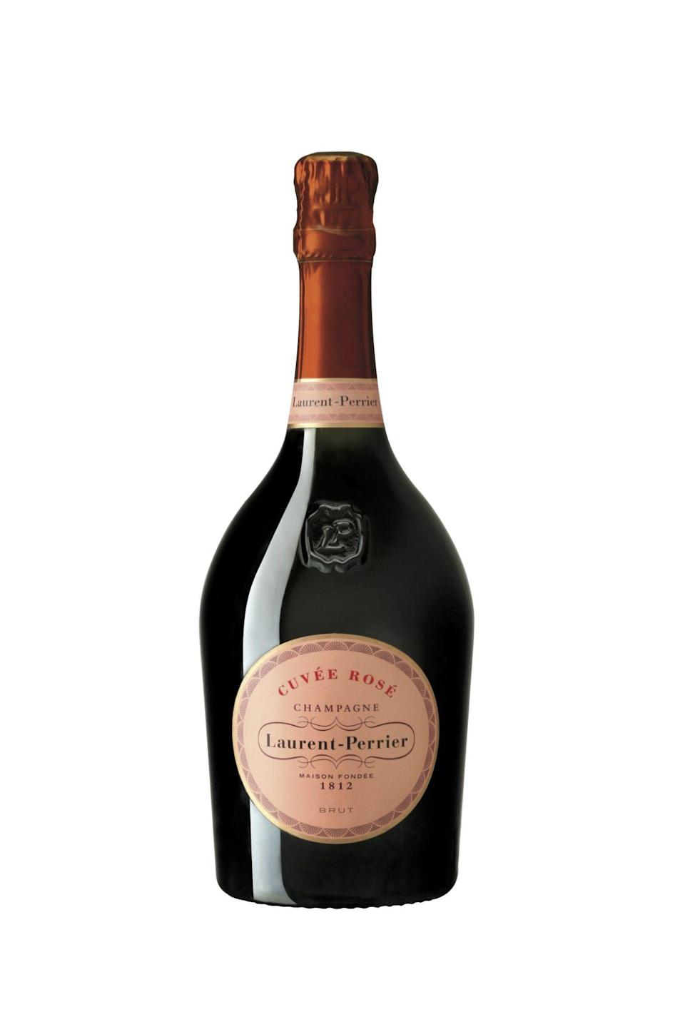 """<p><strong>Laurent-Perrier</strong></p><p>wine.com</p><p><strong>$79.99</strong></p><p><a href=""""https://go.redirectingat.com?id=74968X1596630&url=http%3A%2F%2Fwww.wine.com%2Fv6%2FLaurent-Perrier-Brut-Rose%2Fwine%2F10521%2FDetail.aspx&sref=https%3A%2F%2Fwww.veranda.com%2Fluxury-lifestyle%2Fentertaining%2Fg36465407%2Frose-champagne-bottles%2F"""" rel=""""nofollow noopener"""" target=""""_blank"""" data-ylk=""""slk:Shop Now"""" class=""""link rapid-noclick-resp"""">Shop Now</a></p><p>This gorgeous bottle speaks for itself, but just wait until you taste what's inside. One will discover intensely fruity flavors and a welcome sharpness, bringing you back to summer days spent picking fresh summer berries. </p>"""
