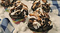"""<p>What's better than a mudslide for dessert? A mudslide on top of a cupcake, of course!</p><p><strong><a href=""""http://kellystilwell.com/recipes/decadent-mudslide-cupcakes/"""" rel=""""nofollow noopener"""" target=""""_blank"""" data-ylk=""""slk:Get the recipe at Virtually Yours."""" class=""""link rapid-noclick-resp"""">Get the recipe at Virtually Yours.</a></strong></p>"""