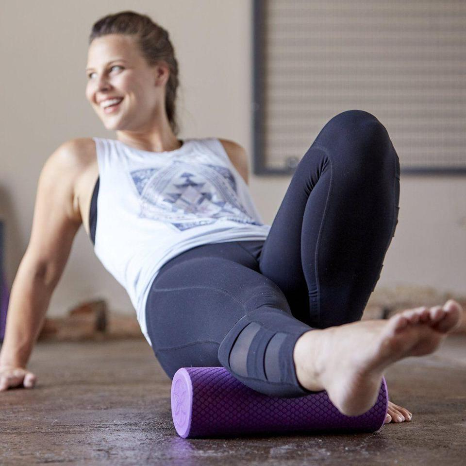 """<p><strong>gaiam</strong></p><p>gaiam.com</p><p><strong>$19.98</strong></p><p><a href=""""https://go.redirectingat.com?id=74968X1596630&url=https%3A%2F%2Fwww.gaiam.com%2Fcollections%2Ffoam-rollers%2Fproducts%2F05-60560%3Fvariant%3D8371087704110&sref=https%3A%2F%2Fwww.cosmopolitan.com%2Fhealth-fitness%2Fg34212791%2Fbest-fitness-foam-rollers%2F"""" rel=""""nofollow noopener"""" target=""""_blank"""" data-ylk=""""slk:Shop Now"""" class=""""link rapid-noclick-resp"""">Shop Now</a></p>"""