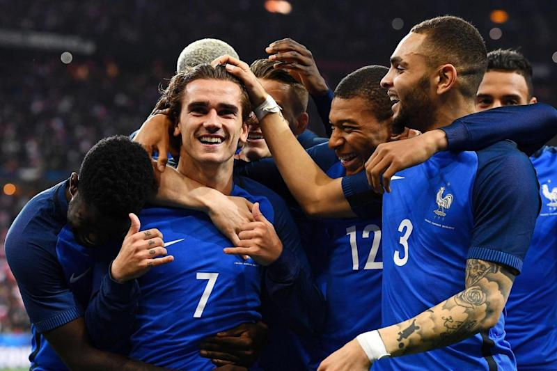 Disallowed | Antoine Griezmann saw his second-half goal ruled out by the video referee (AFP/Getty Images)