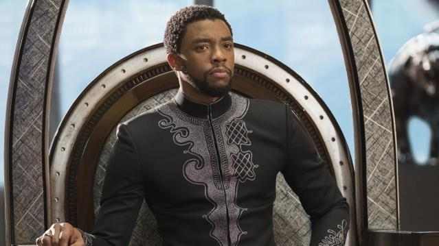 Chadwick Boseman as T'Challa in <em>Black Panther.</em> (Photo: Marvel Studios)