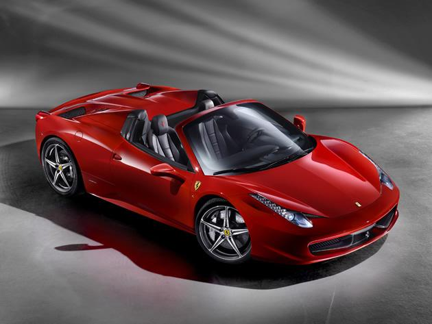 <strong>Ferrari 458 Spider: </strong>The ultimate head-turner has to be the Ferrari 458 Italia and if that is not enough, here is more reason for more attention: the Ferrari 458 Spider. Adding on to Ferrari's range of mid-rear engined V8s, the 458 Spider is the world's first and unique V8 mid-rear engine with a fully retractable hard top. (Photo and text by Cheryl Tay)