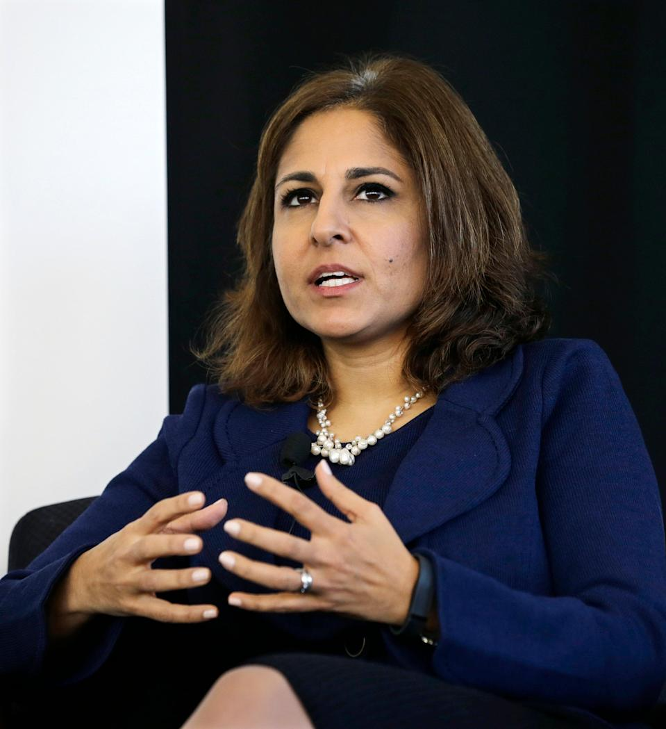 <p>Neera Tanden once criticized Joe Biden, but he appears to have gotten over the email slight.</p> (Copyright 2020 The Associated Press. All rights reserved.)