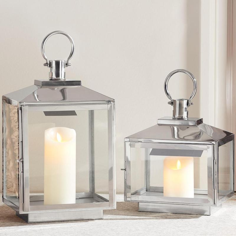 These stunning lanterns can be used indoors. (Photo: Home Depot)