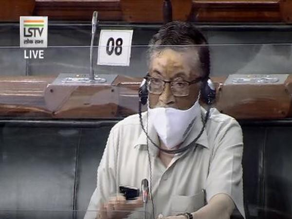 Union Labour Minister Santosh Gangwar speaking in the Lok Sabha after the introduction of three legislations on labour reforms [Photo/LS TV]