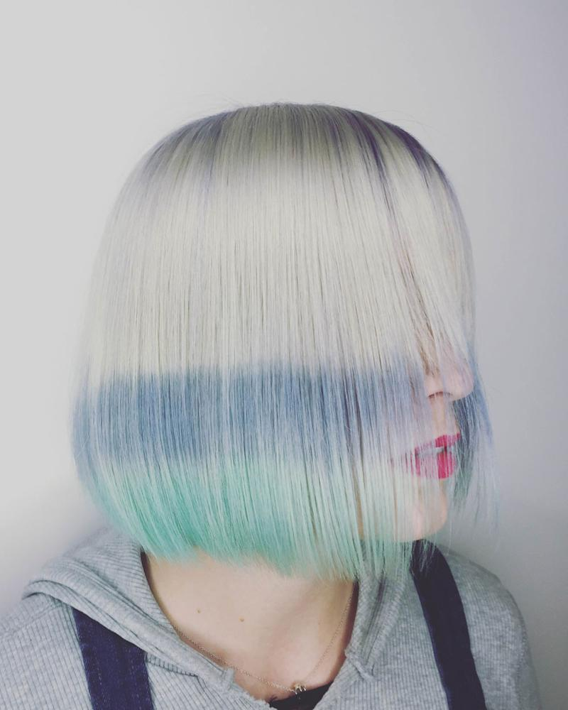 Flashlights Is The New Rainbow Hair Trend For Edgier Girls