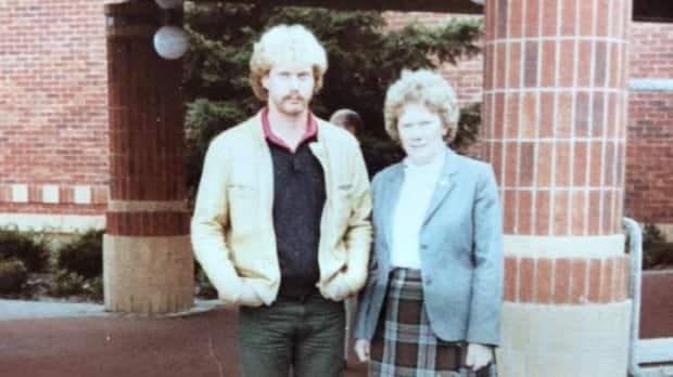 Do you recognize the CBC reporter on the left? His mom gave him some good advice way back then. (Submitted by Brian Higgins - image credit)