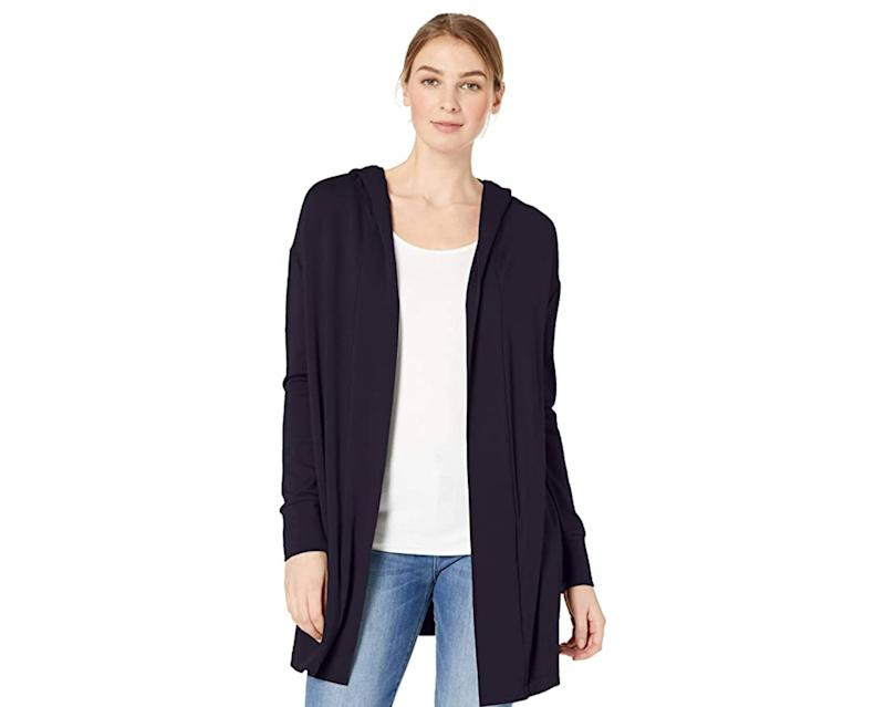 Choose black, olive, charcoal or navy—neutrals that go with anything you have on underneath. (Photo: Amazon)