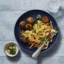 """<p>Pair these Asian-style meatballs with rice noodles and crunchy veggies for a fresh and easy dinner.</p><p><em><a href=""""https://www.goodhousekeeping.com/food-recipes/a34209267/gingery-pork-meatballs-recipe/"""" rel=""""nofollow noopener"""" target=""""_blank"""" data-ylk=""""slk:Get the recipe for Gingery Pork Meatballs »"""" class=""""link rapid-noclick-resp"""">Get the recipe for Gingery Pork Meatballs »</a></em></p>"""
