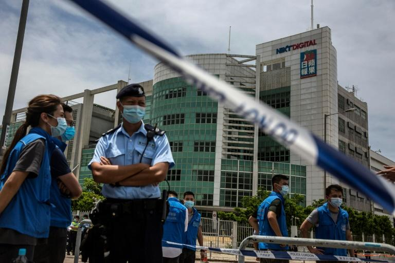 Hong Kong police sift the past to pursue new security law crimes