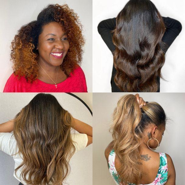 PHOTO: If you are considering getting microlink hair extensions, here's everything you need to know.   (courtesy of Nidiyah Salahuddin / The Mane Loft)
