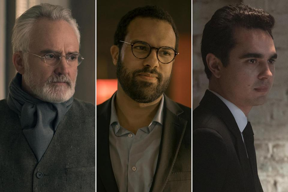 <p>are all nominated for outstanding supporting actor in a drama series for <em>The Handmaid's Tale. </em></p>