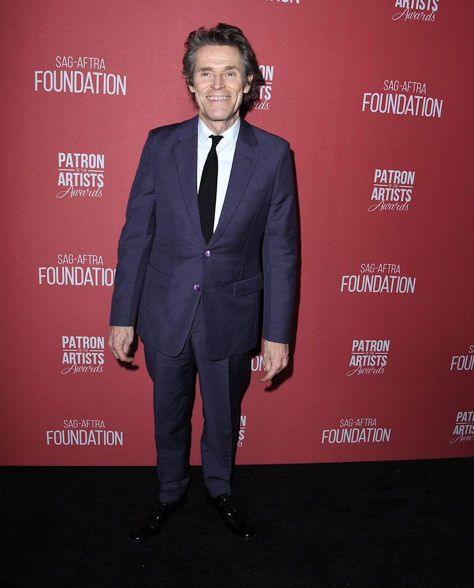 """<h1 class=""""title"""">November 8: Willem Dafoe</h1> <div class=""""caption""""> There's nothing regular-ass about Willem Dafoe's classic blue suit. </div> <cite class=""""credit"""">Steve Granitz / Getty Images</cite>"""
