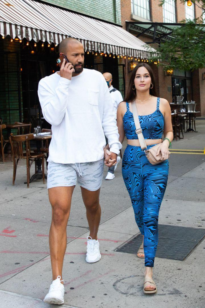 Kacey Musgraves and Cole Schafer take a walk in New York City on June 20.  - Credit: RCF / MEGA