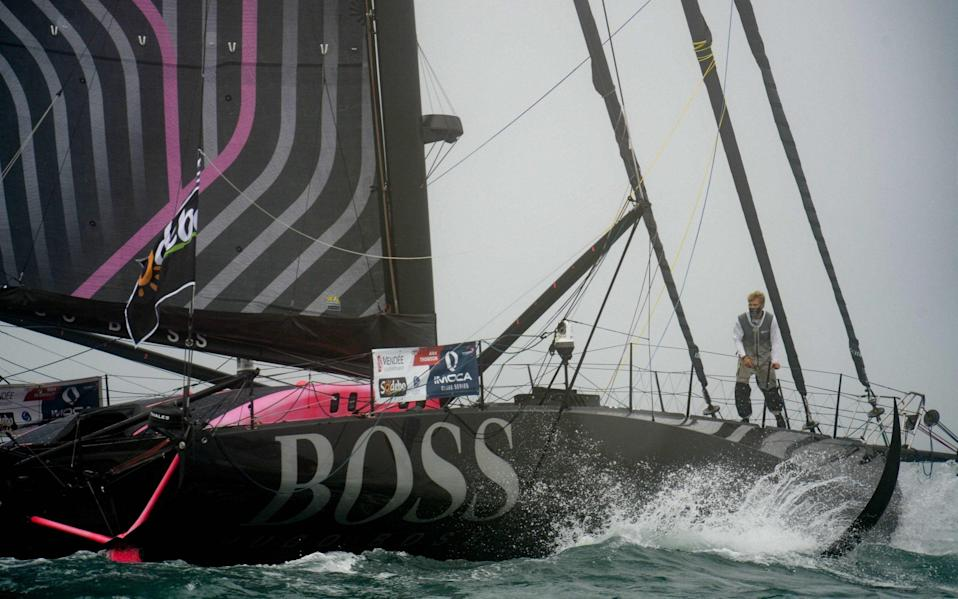 Alex Thomson's Vendee Globe challenge hit by structural damage - Getty Images