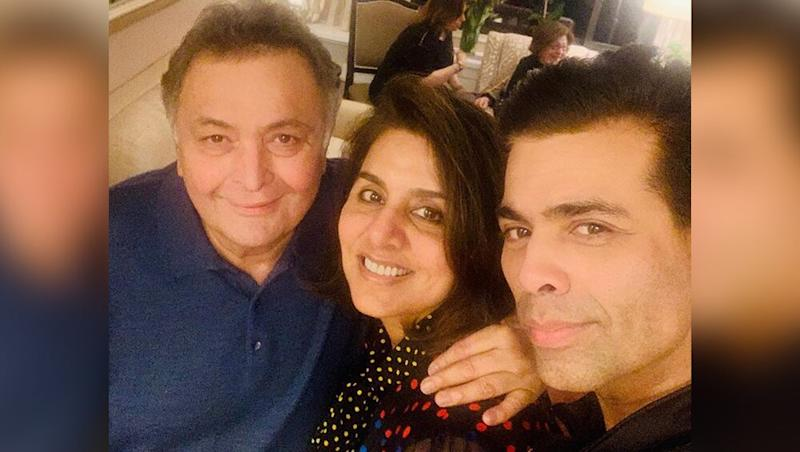 Karan Johar Visits Rishi Kapoor and Neetu Kapoor in New York, Posts a Lovely Note on His 'Favorite Couple of Indian Cinema' - See Pic