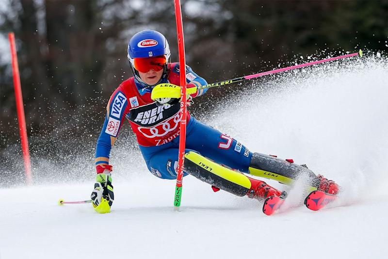Mikaela Shiffrin competing earlier this month in Croatia
