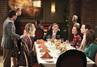 """<p><b>This Season's Theme:</b> """"There are storylines in place that were started up at the end of Season 9, and we're continuing those. I guess the theme is, try to not let the show become terrible,"""" showrunner Steve Molaro jokes.<br><br><b>Where We Left Off: </b> Leonard's dad Alfred (Judd Hirsch) and Sheldon's mom Mary (Laurie Metcalf) met … and hit it off. Like, <i>really</i> hit it off. Penny (Kaley Cuoco) and Leonard (Johnny Galecki) were about to have a second wedding ceremony for friends and family, and Howard (Simon Helberg) and the guys suspected the government was spying on their guidance system project. <br><br><b>Coming Up: </b> A guest-star-packed premiere picks up the morning after the Season 9 finale: Katey Sagal as Penny's mom, Jack McBrayer as her brother, Keith Carradine as her dad, Christine Baranski and Hirsch as Leonard's parents, Emmy nominee Metcalf as Sheldon's mom, and Dean Norris as the Air Force colonel who approaches the guys about their guidance system invention. And we will find out the current state of affairs – er, <i>affair</i>? – with Mary and Alfred. """"You will find out everything that happened and all the tension it causes during what was supposed to be a lovely wedding,"""" Molaro says, adding, """"Loveliness does find a way to poke its head through the curtain here and there."""" Meanwhile, """"if all goes according to plan, at some point this season [Bernadette's] baby will come along,"""" and Molaro says the writers are going to """"start taking a look at the living arrangements and how that's working for everybody"""" in Season 10. <br><br><b>The Bachelor: </b> Raj (Kunal Nayyar), the least settled member of the group, will remain torn between two women – Emily and Claire – when the season begins. As much as Raj wants to be a husband and father, Molaro says he's already a married man, sorta. """"Raj's a pretty good second husband to all the women,"""" says Molaro. """"It's a role he handles well … He floats around and fills in the gaps for all their relatio"""